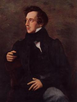 Felix Mendelssohn:  He was a German composer and the predominant musical figure in the transitional period between the Classical and Romantic eras, and was considered one of the greatest composer of all time. Mendel10