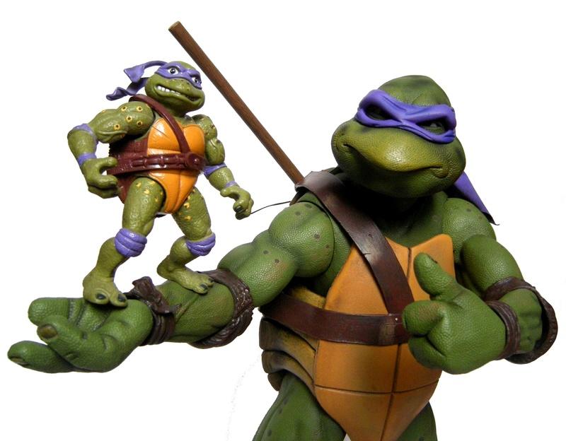 Teenage Mutant Ninja Turtles - Page 8 Compar10
