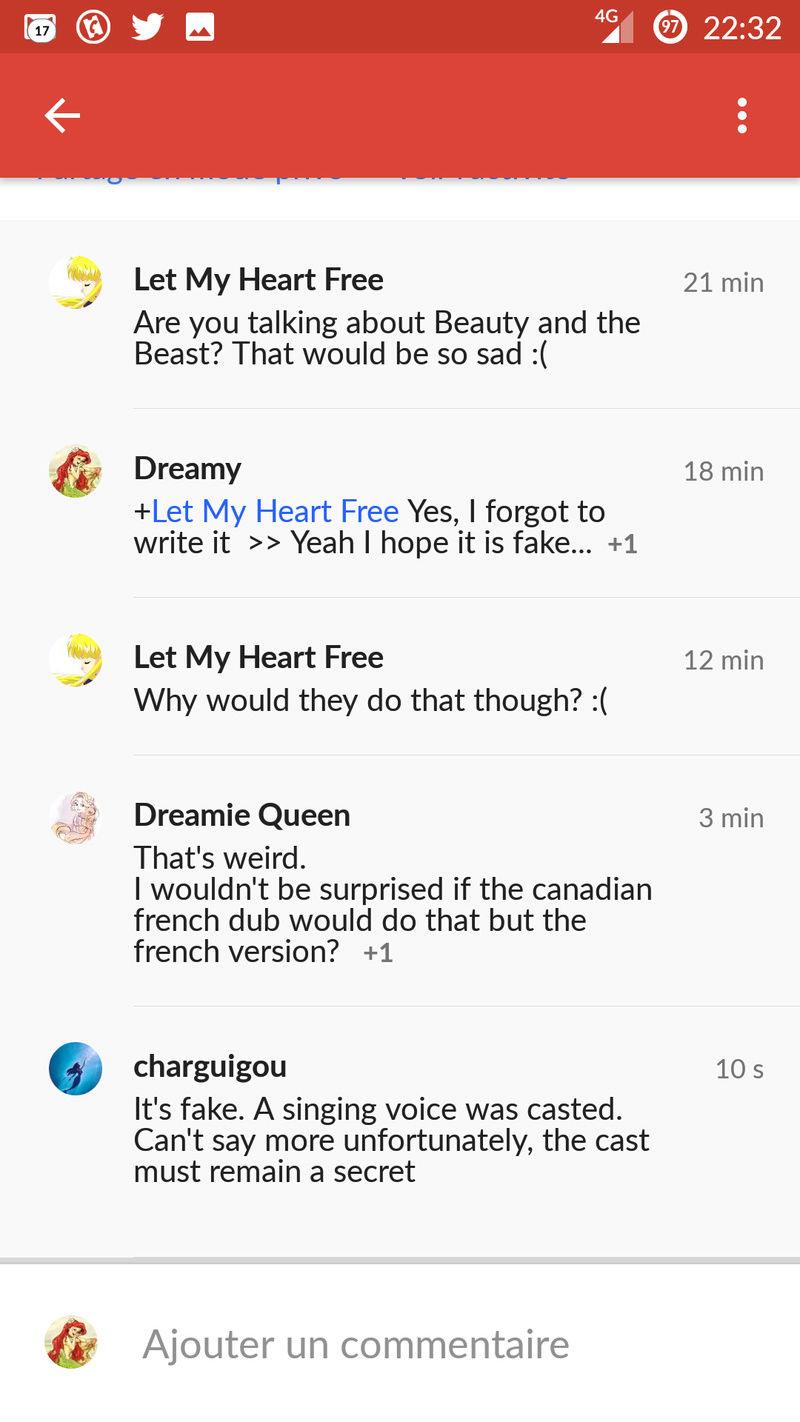 [Disney] La Belle et la Bête (2017) - Sujet d'avant-sortie - Page 36 Screen10