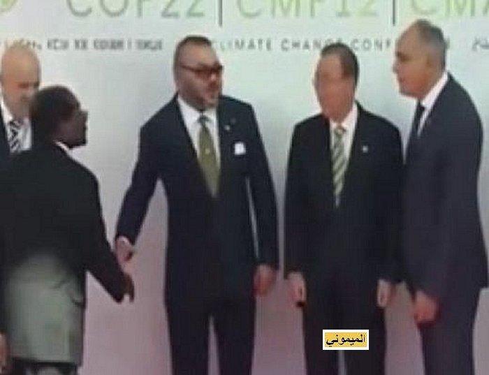 Zimbabwé desavoué a Marrakech رئيس زمبابوي صاحب منجم الكوبالط يفقد بركته في مراكش 210
