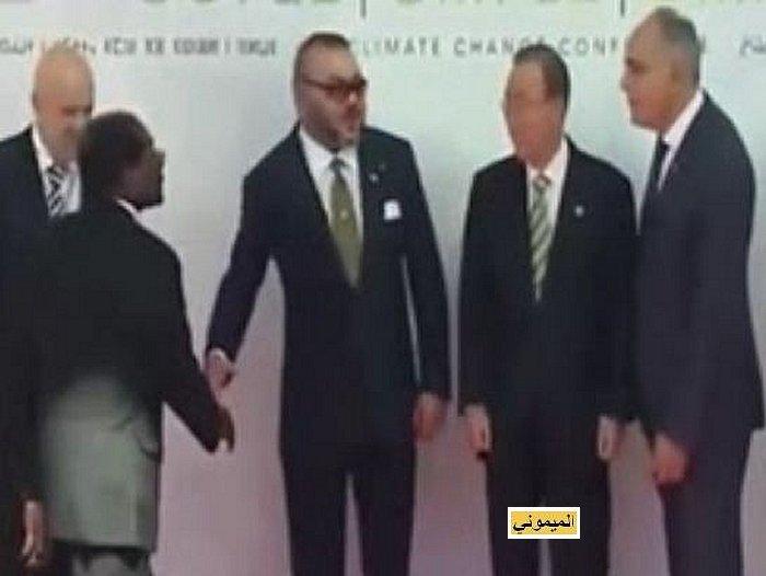 Zimbabwé desavoué a Marrakech رئيس زمبابوي صاحب منجم الكوبالط يفقد بركته في مراكش 310