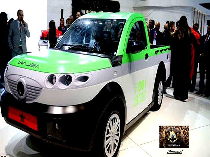 Pickup electric made in Moroccoأصلان- المغرب يصنع أول سيارة شحن كهرباية في العالم Captur10