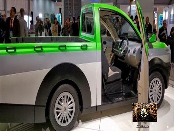 Pickup electric made in Moroccoأصلان- المغرب يصنع أول سيارة شحن كهرباية في العالم Captur11