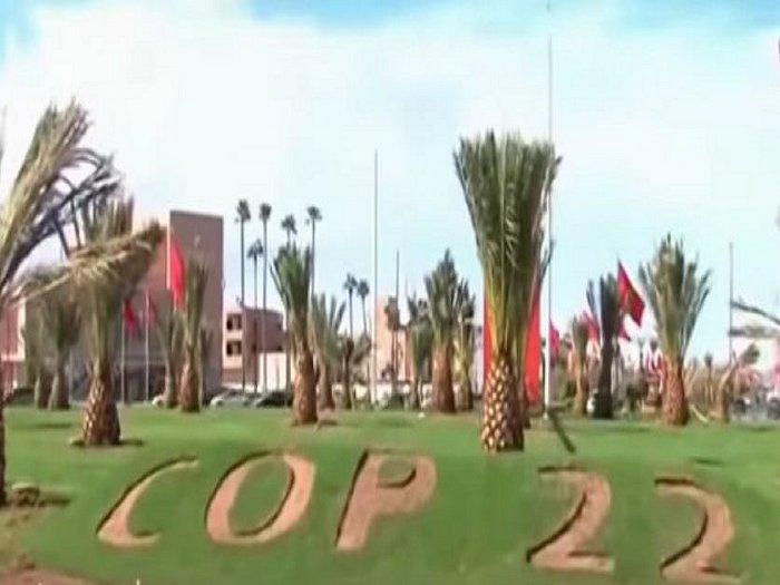 Genie Marocain cop22 Marrakech مراكش عبقرية المغربي في  كوب 22 Cop310