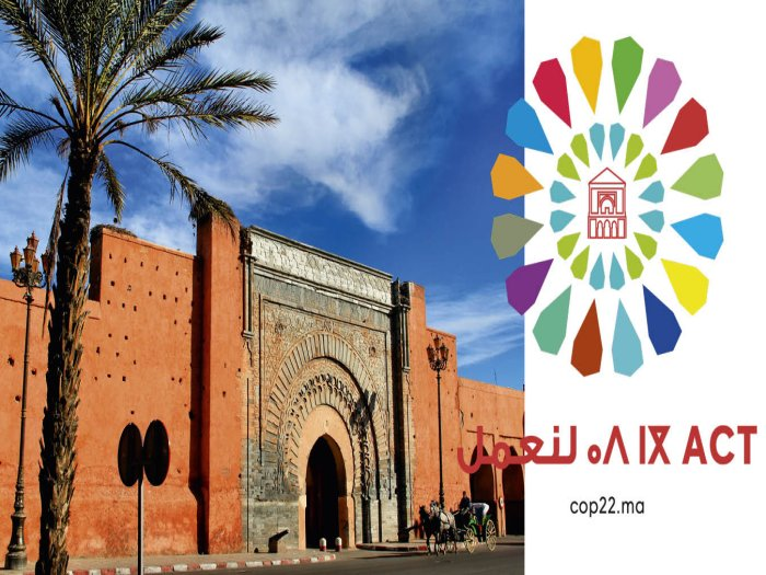 Genie Marocain cop22 Marrakech مراكش عبقرية المغربي في  كوب 22 Copa510
