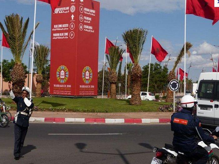 Genie Marocain cop22 Marrakech مراكش عبقرية المغربي في  كوب 22 Copa610