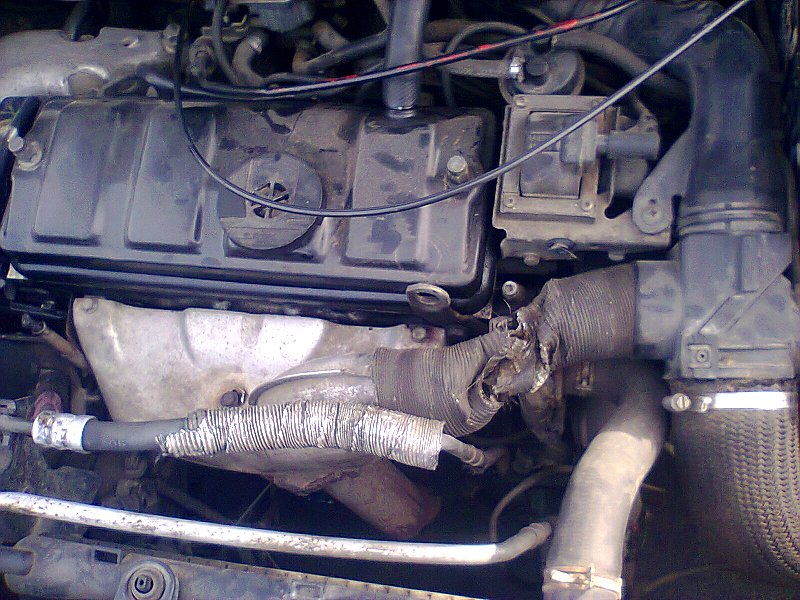 Sujet peugeot 206 bricolé avec moteur 205 Photo011