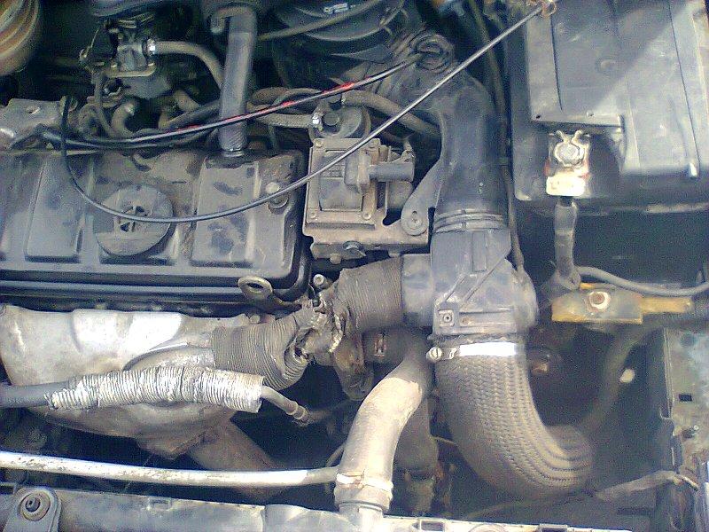 Sujet peugeot 206 bricolé avec moteur 205 Photo012