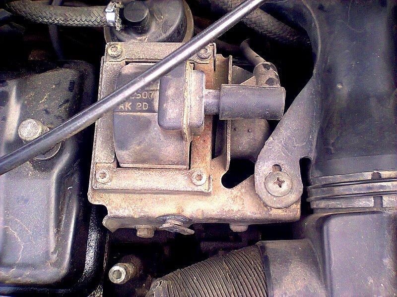 Sujet peugeot 206 bricolé avec moteur 205 Photo014