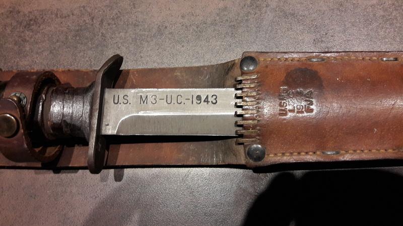 Poignards USM3 avec foureau M6 M3_uti13