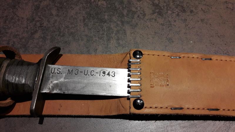 Poignards USM3 avec foureau M6 Utica_11