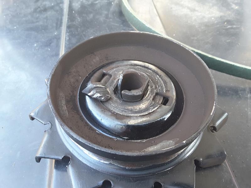 Stripped alternator nut 20170210