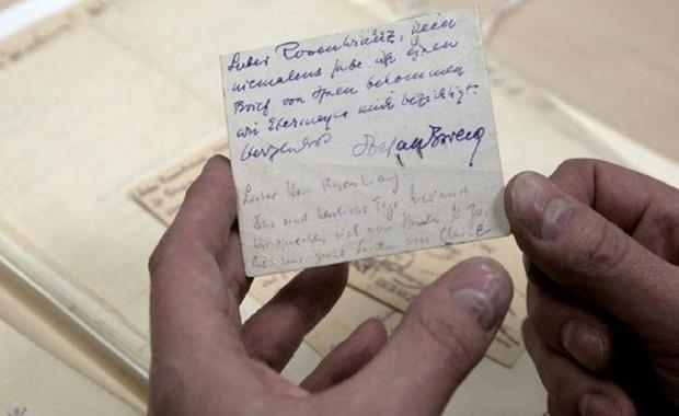Mise en vente de la Correspondance de Stefan Zweig avec son traducteur Alzir Hella Zweig10