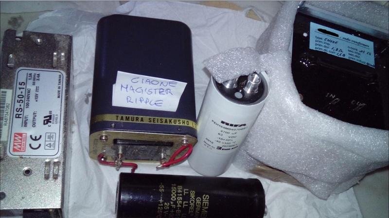 trasformatori alimentazione gainclone lm3886 Ciaone10