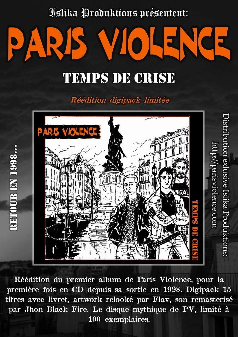 Temps de Crise réédition digipack limitée Fly_fy10