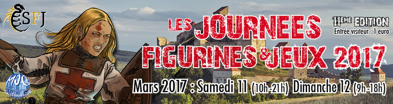 [IDF] Les JFJ 2017 !! la 11ème !!! Les Journées Figurines & Jeux - Sartrouville Bandea10