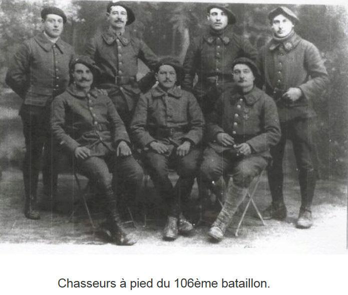 106° Bataillon de Chasseurs à Pied 106com10