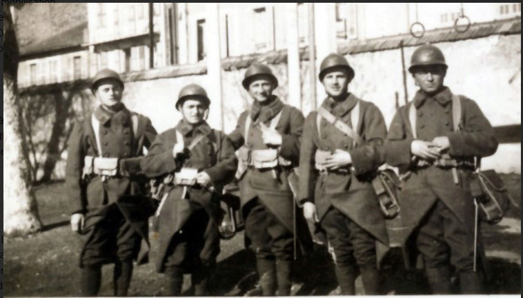 Les Chasseurs en mai-juin 1940. 1110