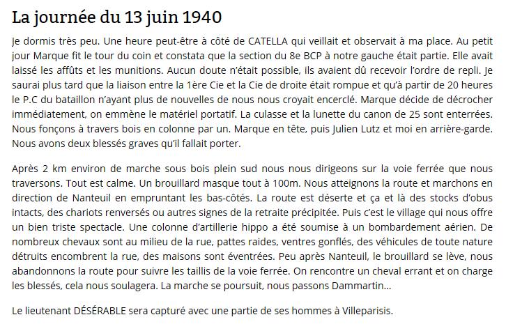 Les Chasseurs en mai-juin 1940. 13_6_410