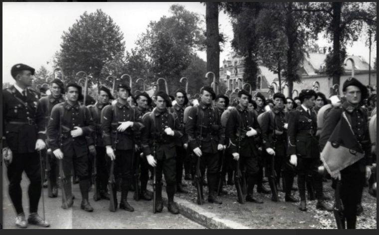 Les Chasseurs en mai-juin 1940. 13b10