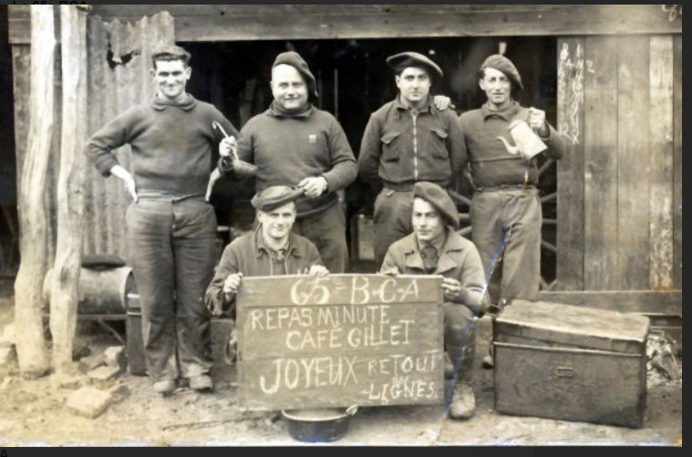 Les Chasseurs en mai-juin 1940. 6510