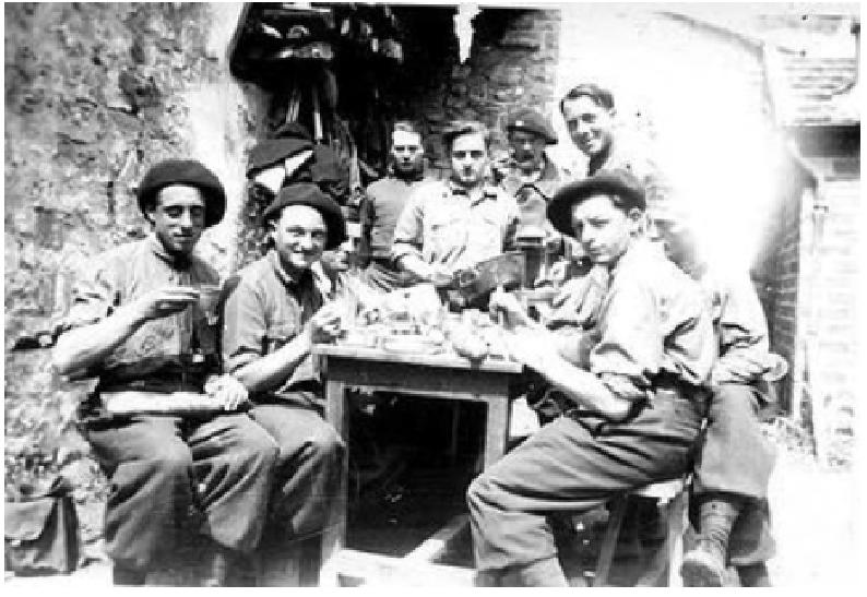 Les Chasseurs en mai-juin 1940. Caferm11