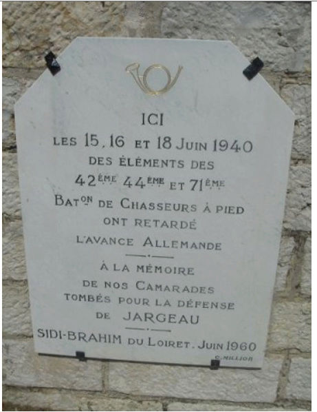 Les Chasseurs en mai-juin 1940. Mai_ju10