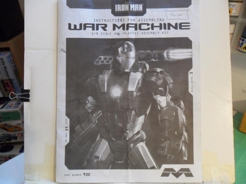 Moebius Iron Man War Machine Sam_2810
