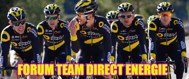 Forum Team Direct Energie