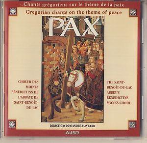Monodie grégorienne - polyphonie médiévale Pax10