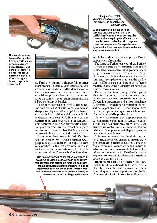 Fusil à barillet inconnu.  27140-10
