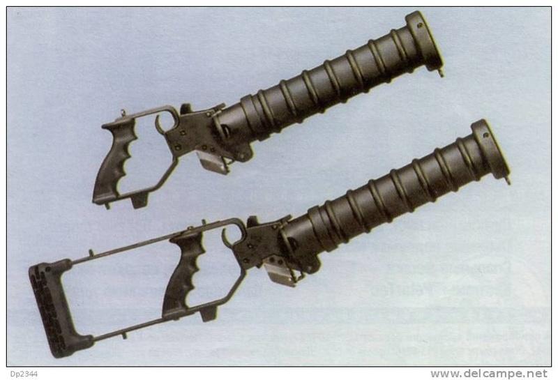 k98 modifié en fusil lance grenade service d'ordre Cougar10