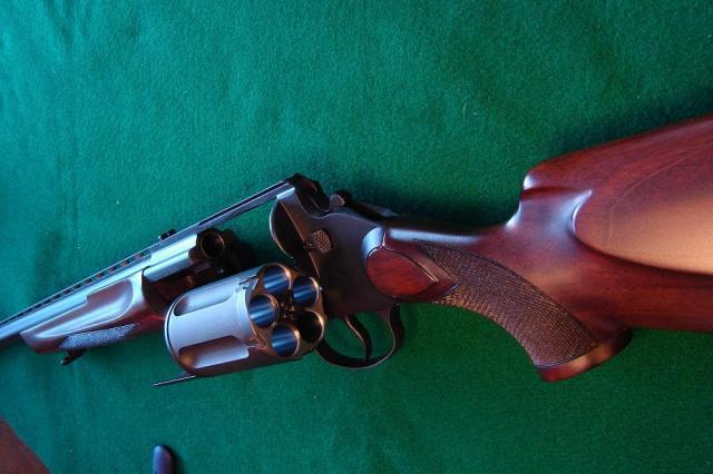 Fusil à barillet inconnu.  Mt255010