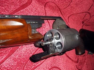 Fusil à barillet inconnu.  Mt255011