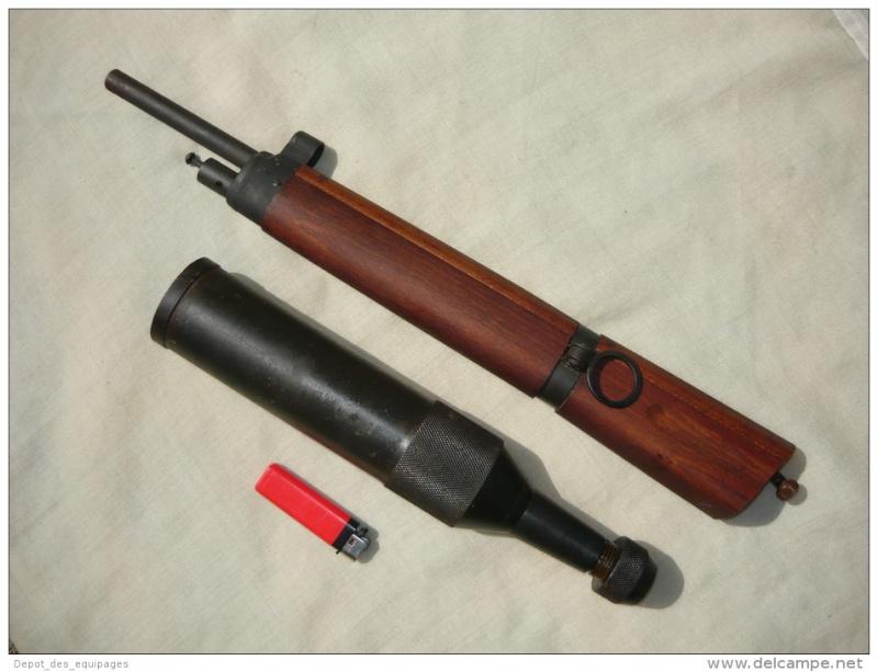 k98 modifié en fusil lance grenade service d'ordre Trombl11