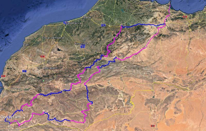 Projet de Maroc fin mai 2017 Trace10