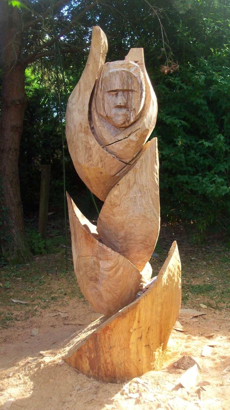 sculpture monumentale en chêne 100_6817