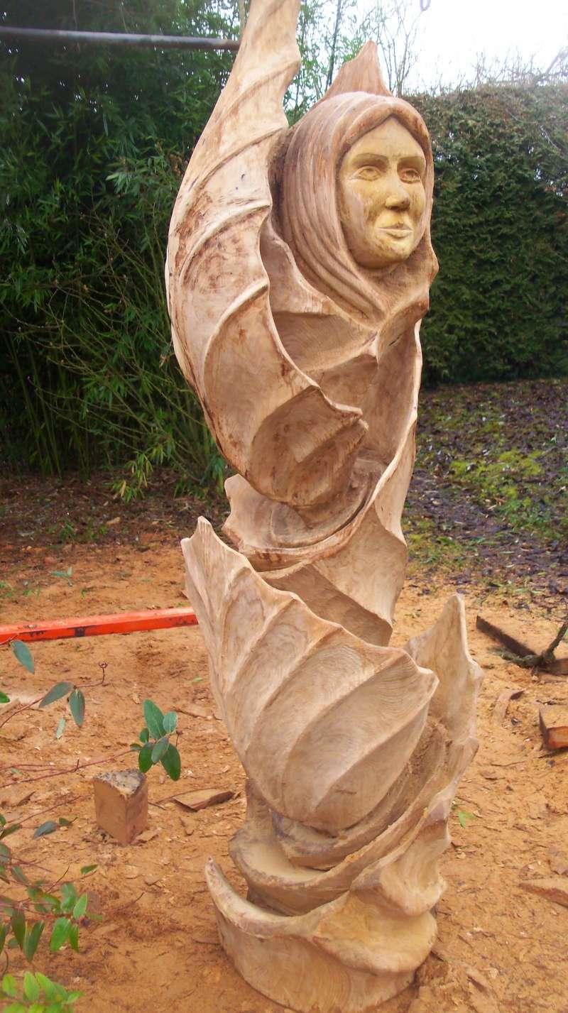 sculpture monumentale en chêne 100_6918