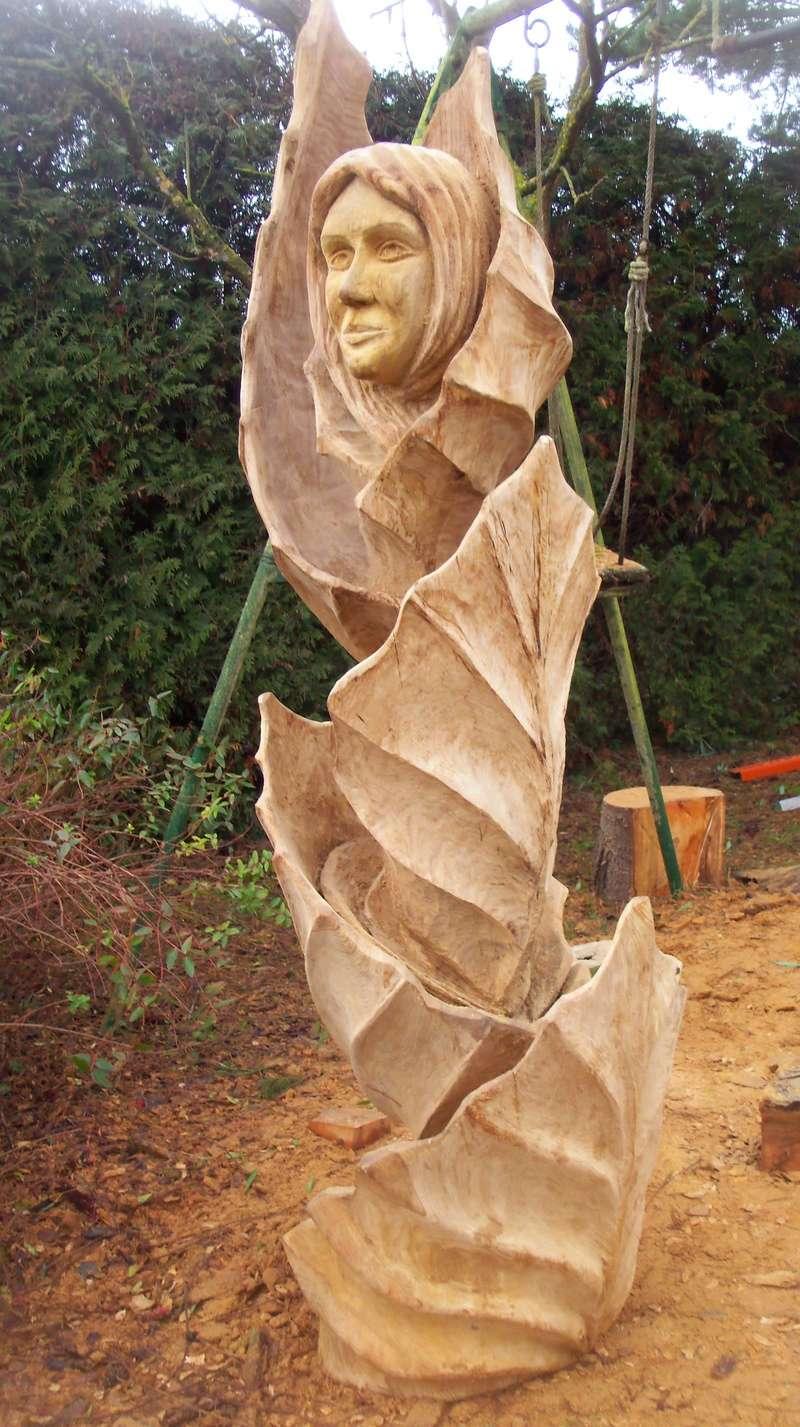 sculpture monumentale en chêne 100_6919