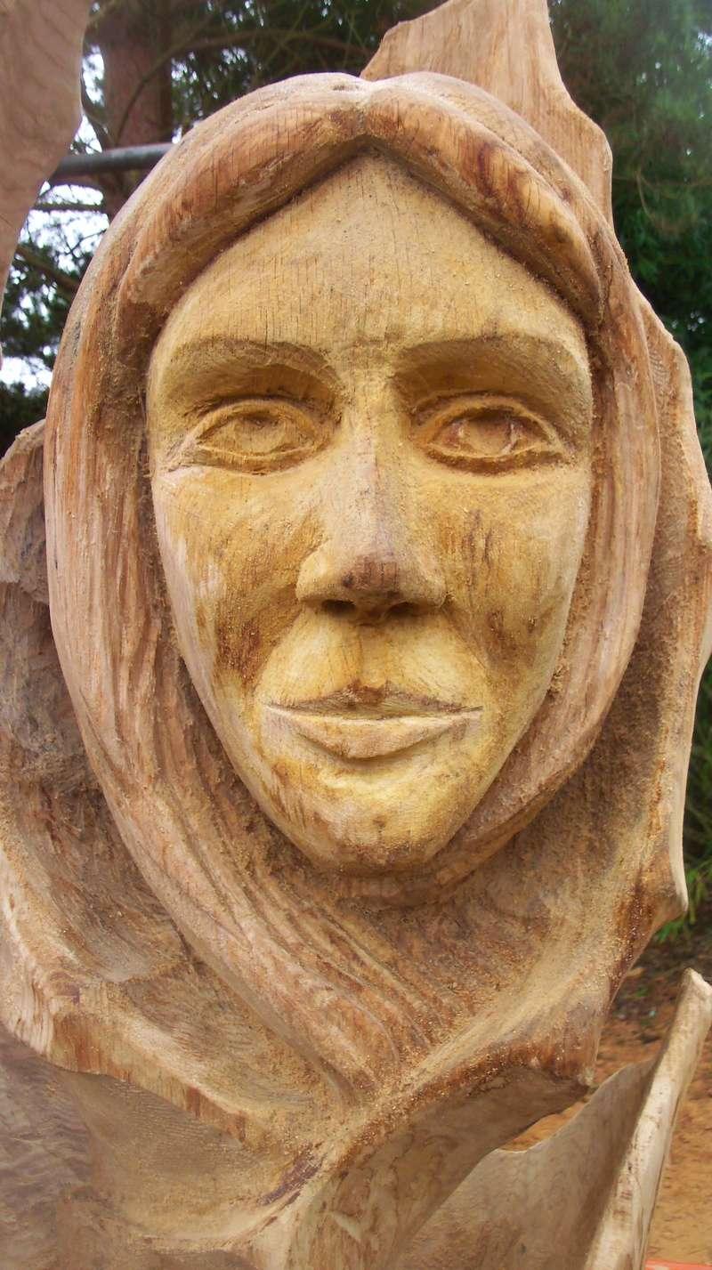 sculpture monumentale en chêne 100_6921