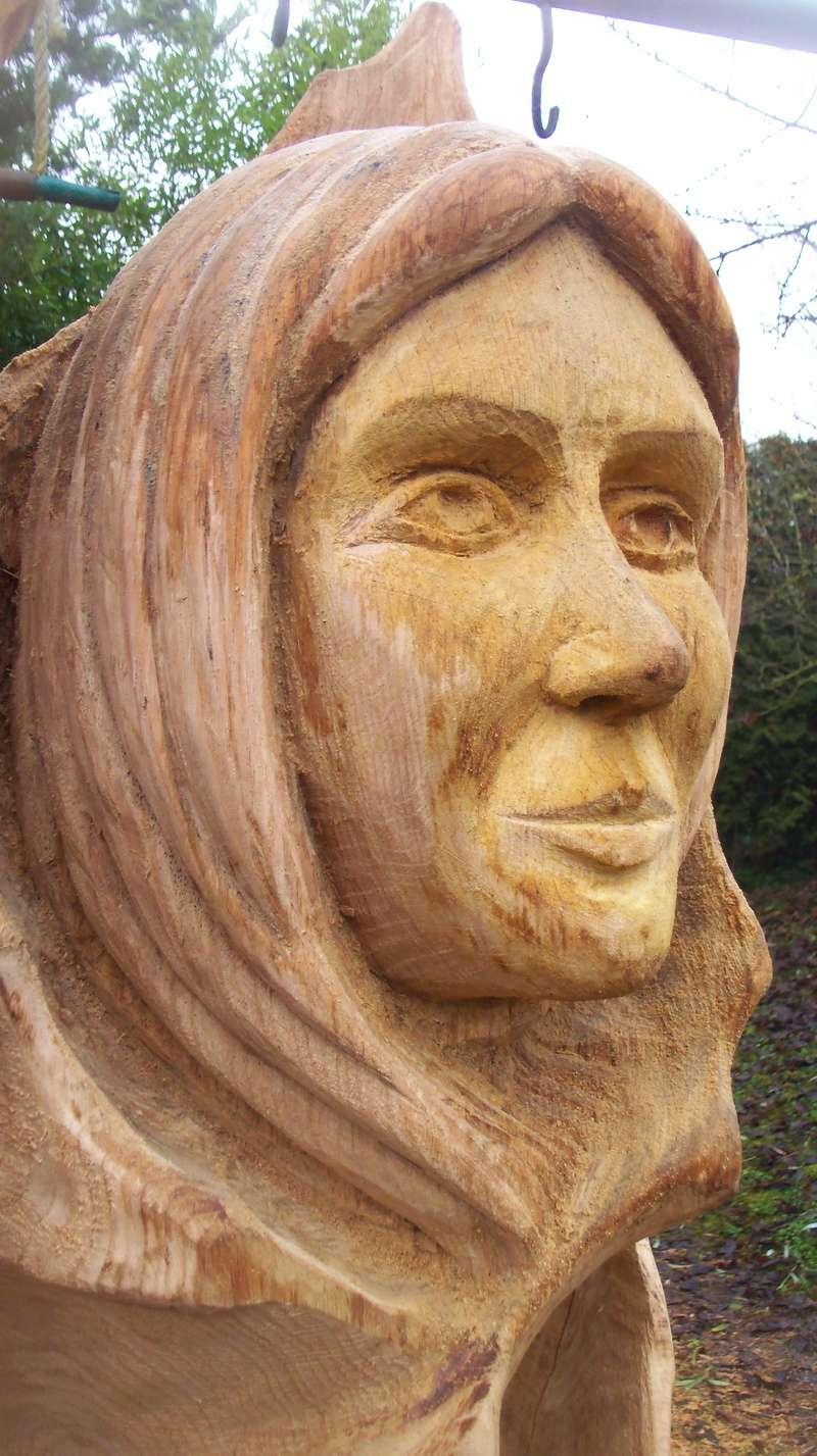 sculpture monumentale en chêne 100_6922
