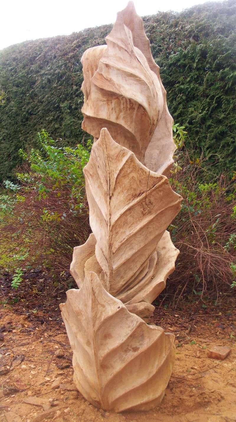 sculpture monumentale en chêne 100_6924