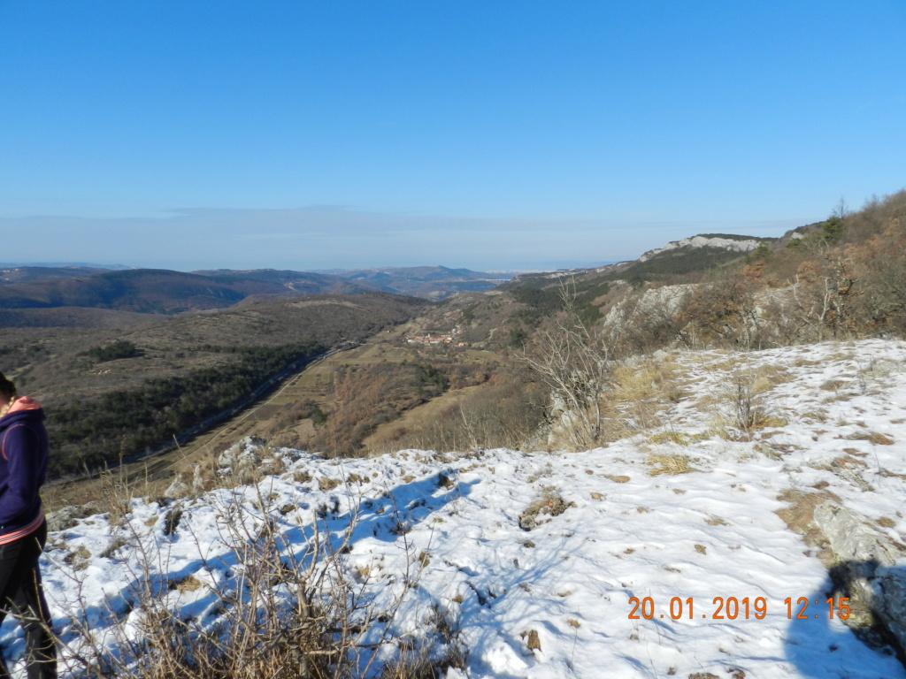 20 gennaio 2019, con il 3 Kraji sul monte Golic 20_gen10
