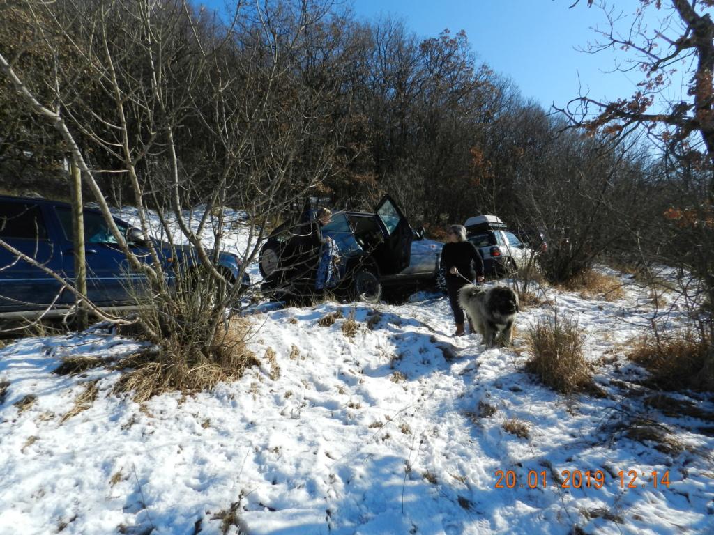 20 gennaio 2019, con il 3 Kraji sul monte Golic 20_gen11