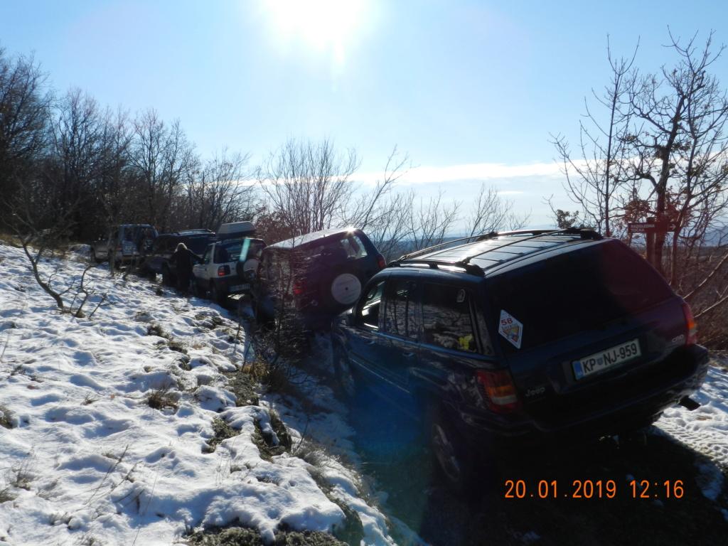 20 gennaio 2019, con il 3 Kraji sul monte Golic 20_gen13