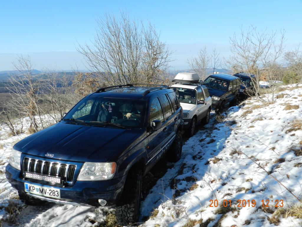 20 gennaio 2019, con il 3 Kraji sul monte Golic 20_gen16