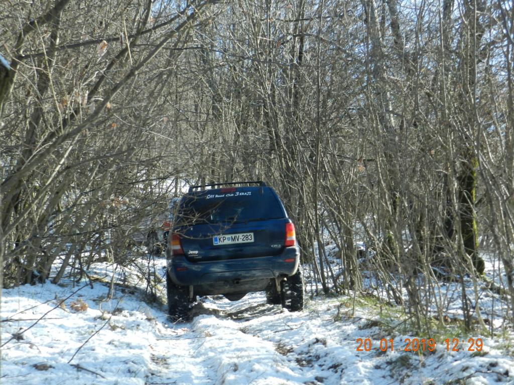20 gennaio 2019, con il 3 Kraji sul monte Golic 20_gen18