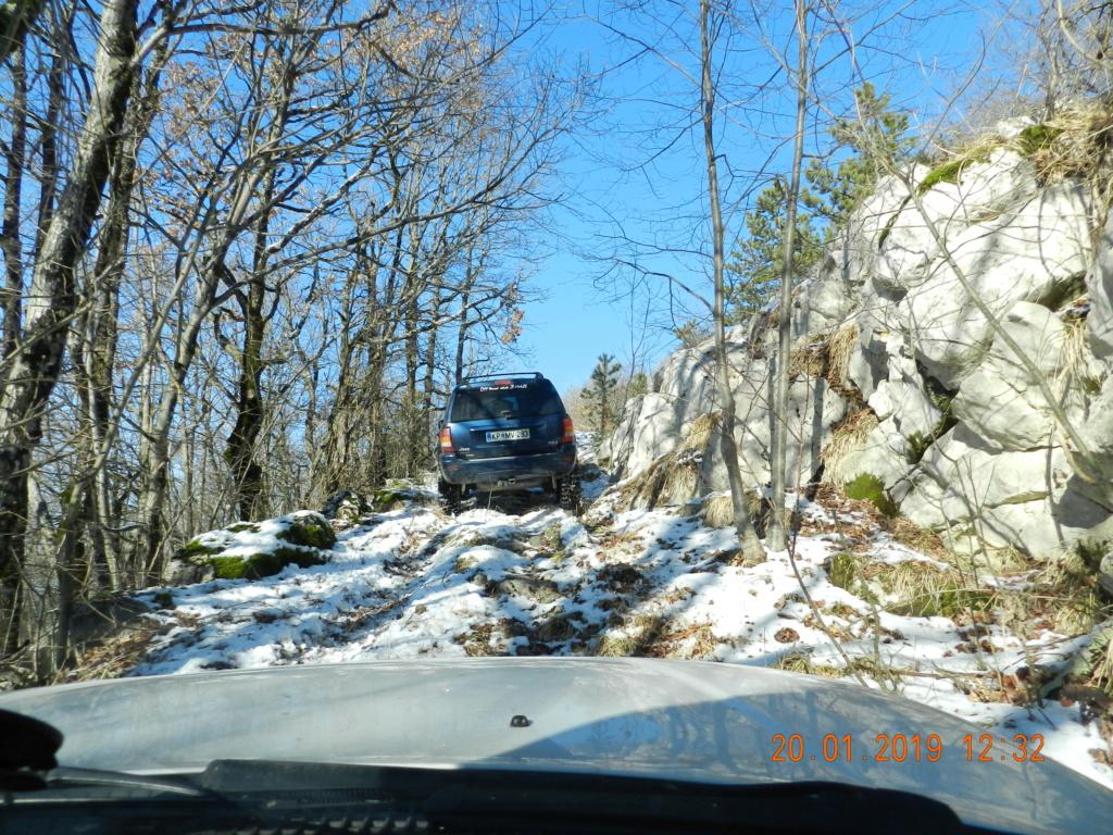 20 gennaio 2019, con il 3 Kraji sul monte Golic 20_gen19