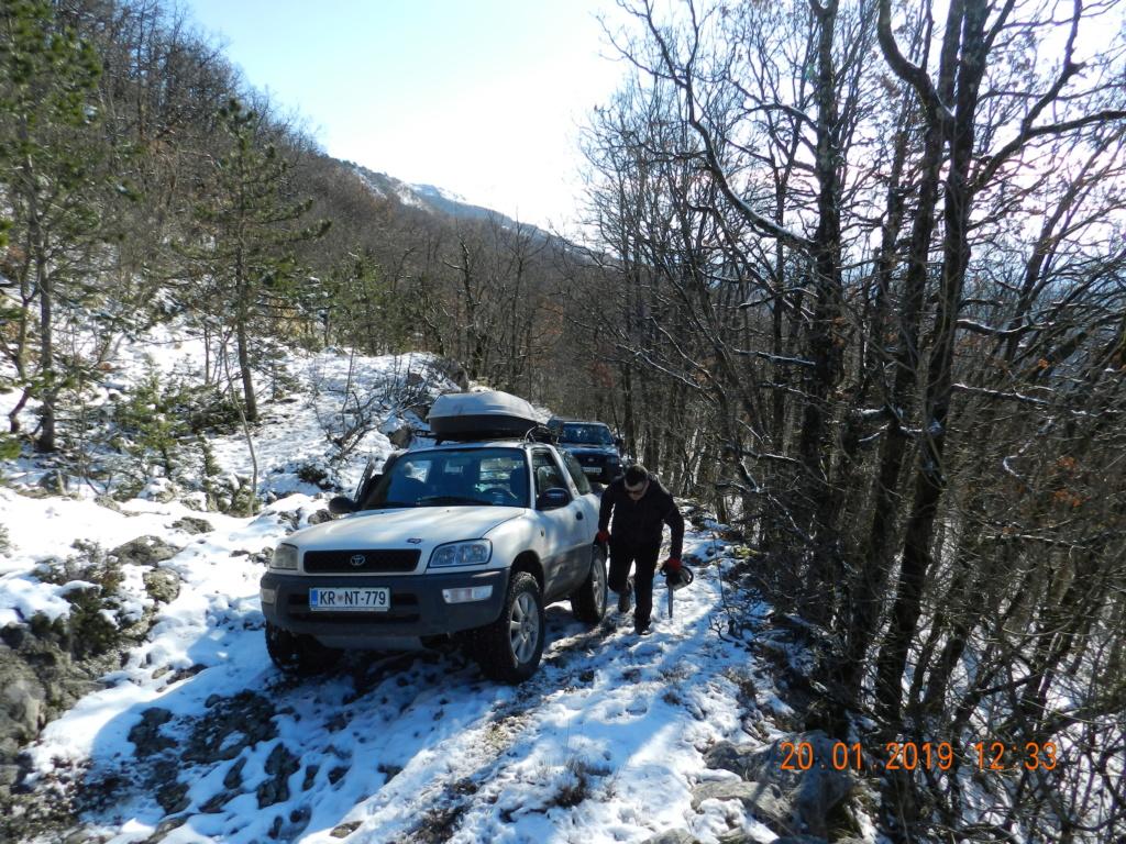 20 gennaio 2019, con il 3 Kraji sul monte Golic 20_gen20
