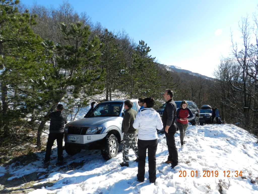 20 gennaio 2019, con il 3 Kraji sul monte Golic 20_gen21